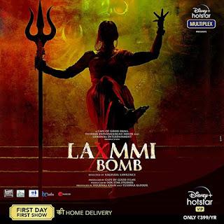 Laxmii Or Laxmmi Bomb First Look Poster 4