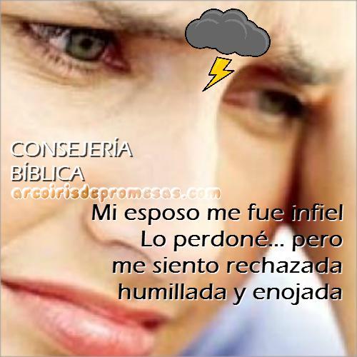 Consejería Bíblica Cómo dejar de sentir dolor por una infidelidad