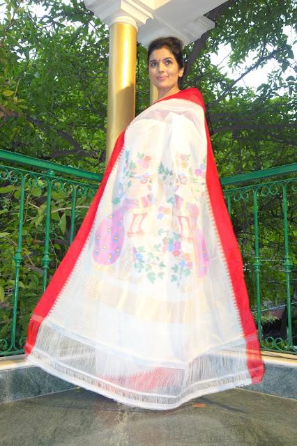 Ponduru Khadi saree, Indian Handloom saree, Saree, Fashion, India