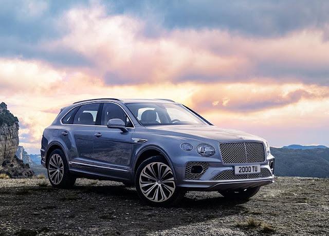 Bentley Bentayga là chiếc xe SUV sang trọng đầu tiên của Bentley