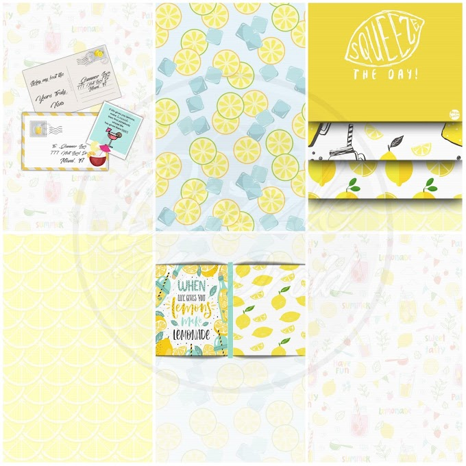 Lemon Head HUGE Wallpaper Set