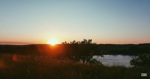 Medicine Hat Alberta Sunrise