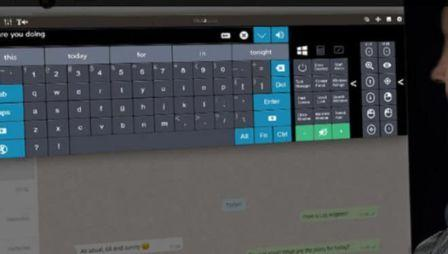 Click2Speak On-Screen Keyboard