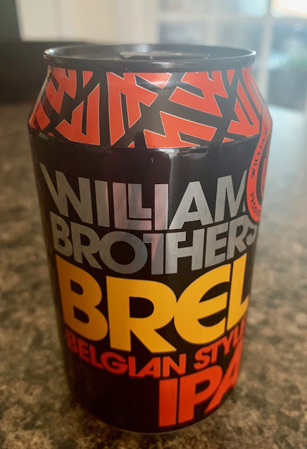 Brel Belgian Style IPA William Brothers Brewing Company