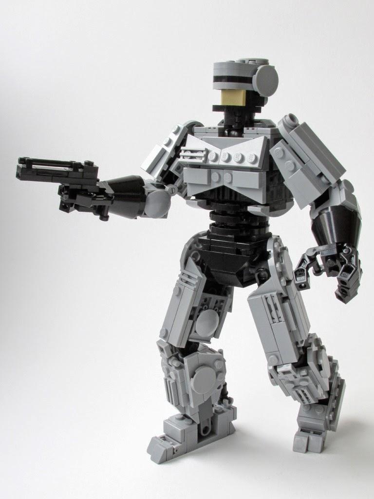 Felix Ip。蟻速畫行 Lego Robocop