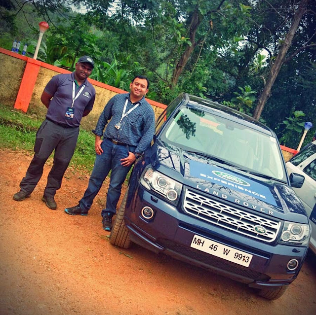 Roshan Radhakrishnan Godyears Kerala #LandRoverExperience
