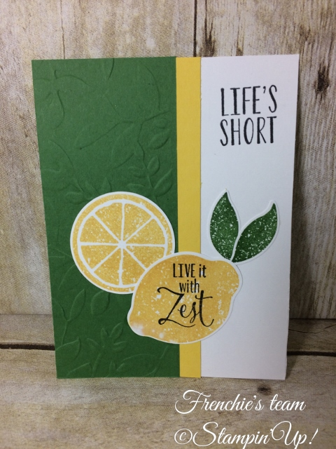 Lemon Zest, Stampin'Up!