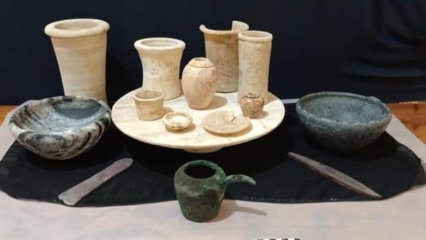 صور.. اكتشاف ورشة لصناعة الفخار من العصر اليوناني الروماني في أبوحمص  بالبحيرة