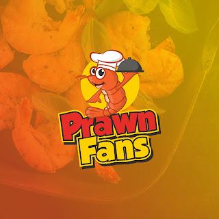 Desain Logo Maskot atau karakter Udang untuk Prawn Fans