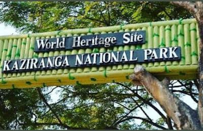 काजीरंगा राष्ट्रीय उद्यान । Kaziranga National Park in Hindi