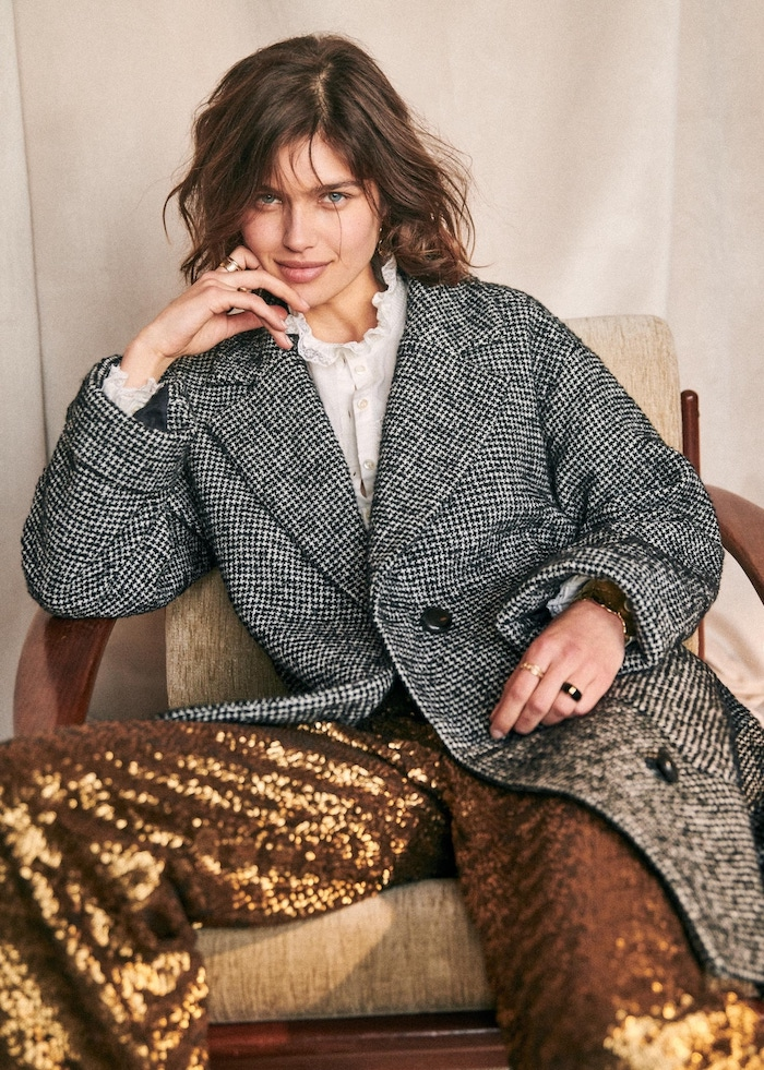 Sézane, Sézane Winter 2019, Sézane Winter Collection, Sézane Lookbook, Sezane, Sezane Winterl