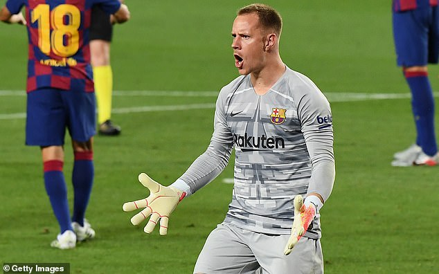 Barcelona's Marc-Andre ter Stegen 'on verge of signing new five-year contract' after Chelsea 'made offer'