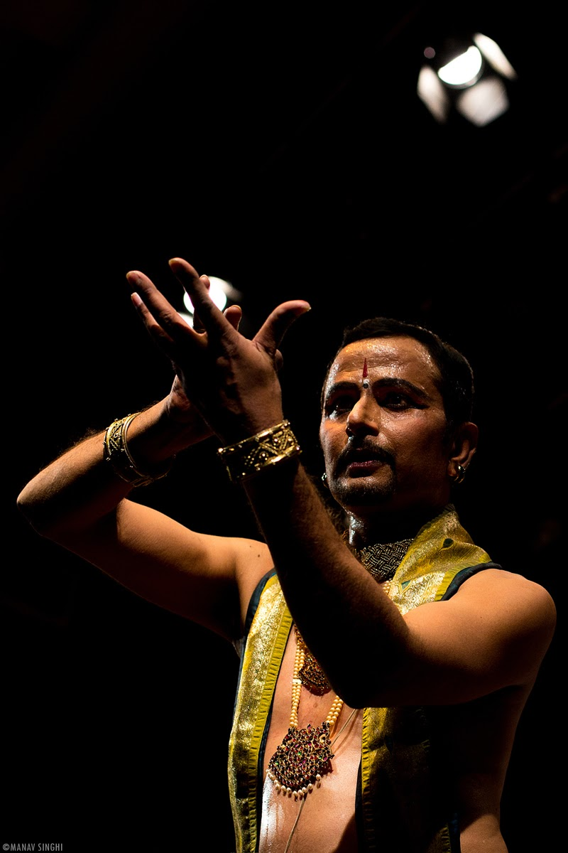 Dr Gyanendra Dutt Bajpai Bharatnatyam Dancer