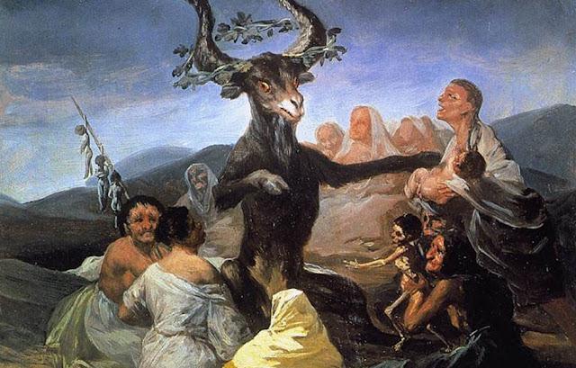 El Aquelarre Francisco de Goya