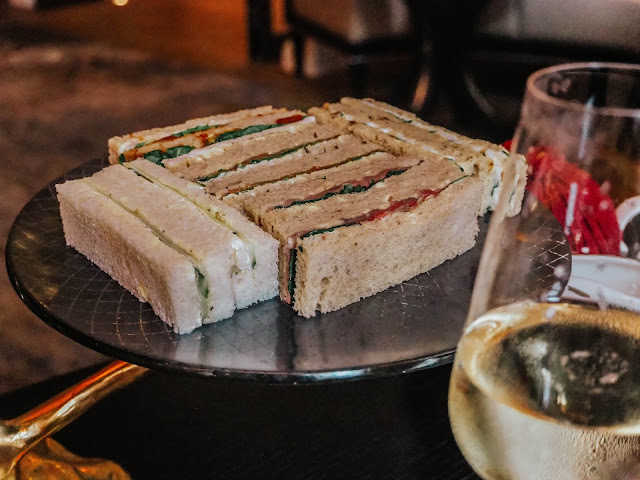 London Hotel Luxury Afternoon Tea Sandwiches