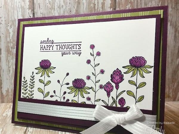 Flowering Fields Card Showcase