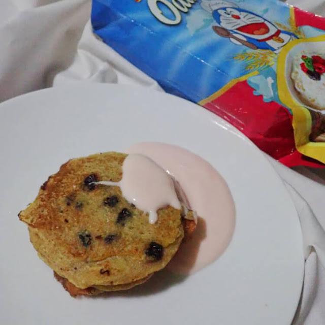 resep pancake oatmeal
