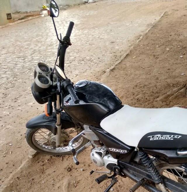 RP recupera moto furtada durante a Festa de Santa Luzia em Rafael Fernandes