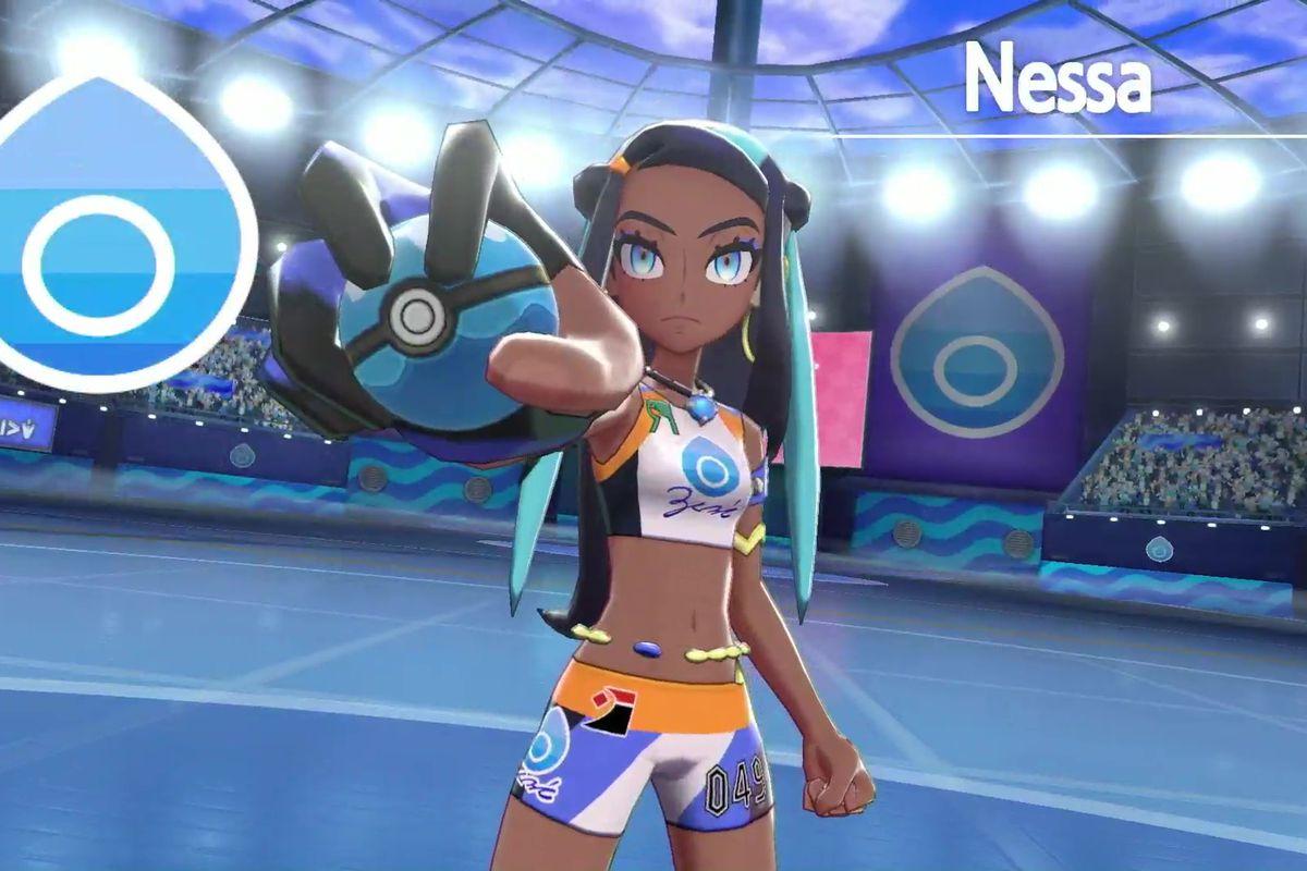 Gym leader Nessa