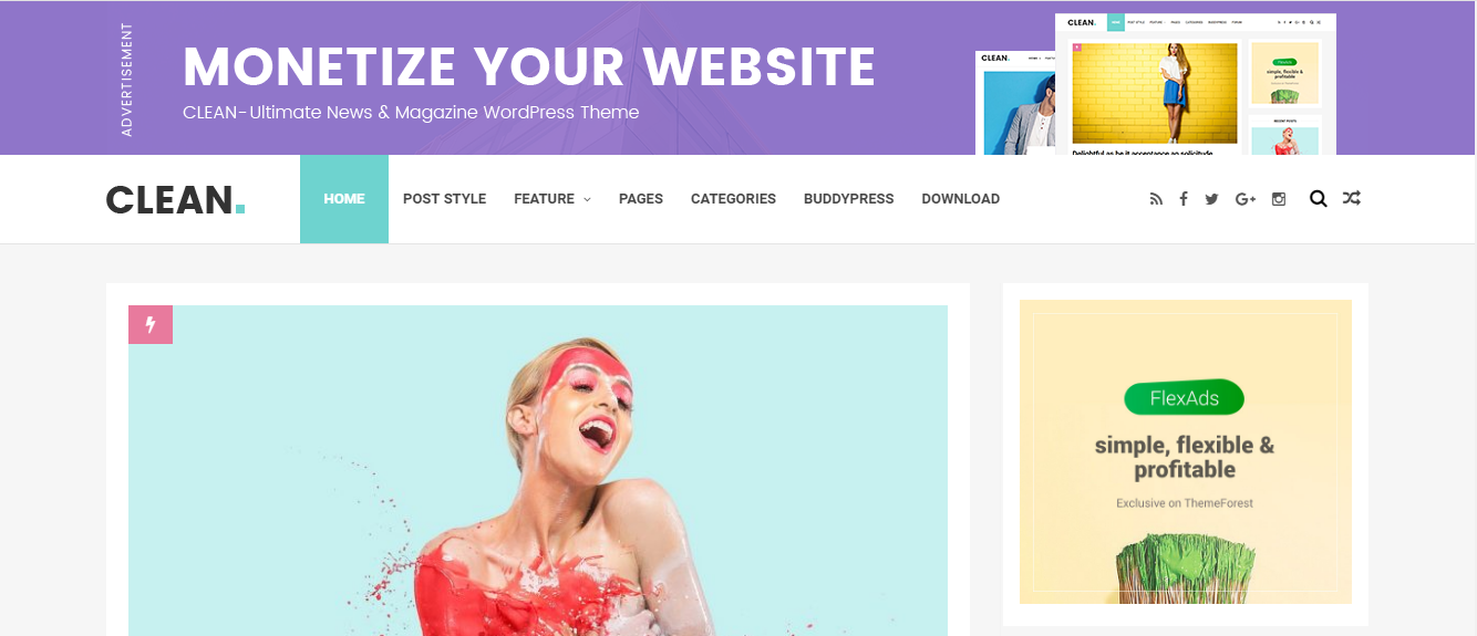 25+ Best Free Blogger Templates 2019 - Responsive Layout