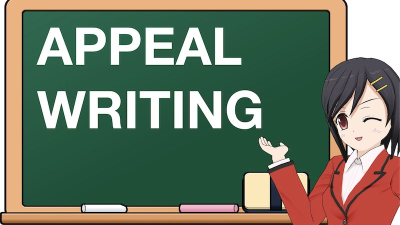 SCHOOL SECTION APPEAL WRITING