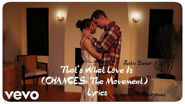 That's What Love Is Lyrics