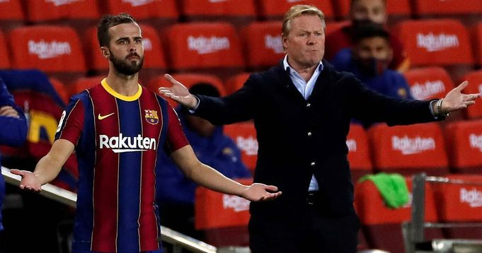 Diario Sport: Pjanic problem with Koeman was his lack of physicality: