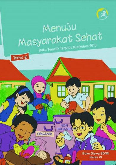 Buku Siswa Kelas 6 Tema 6 Revisi 2017 Kurikulum 2013
