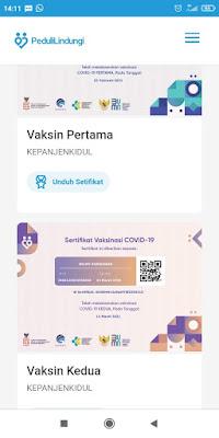 unduh sertifikat vaksinasi covid-19