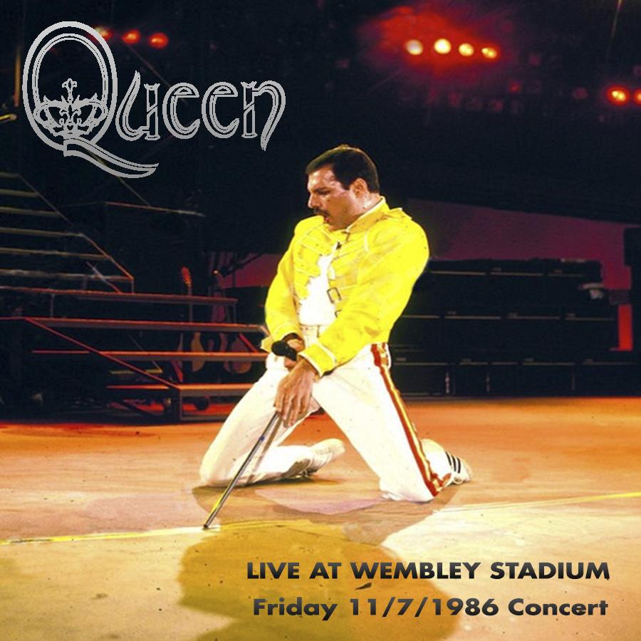 Queen - Wembley 11/07/1986 (Viernes)