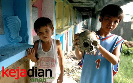 Penghuni Kuburan Menyeramkan Di Philipina