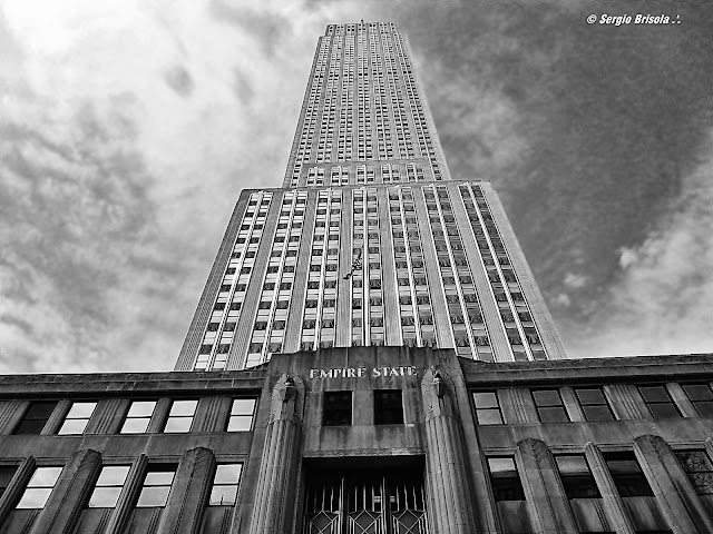 facade of the Empire State Building - NYC