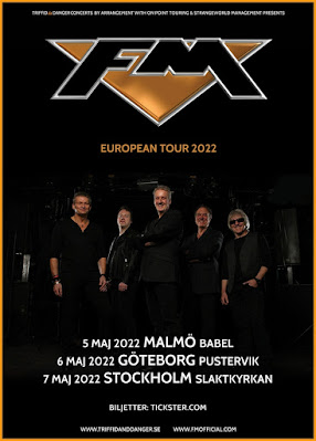 FM - Sweden tour dates poster - May 2022
