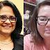 Ministra Damares Alves e a secretária de Políticas Públicas para Mulheres de Maringá, Terezinha Beraldo fazem reunião on-line