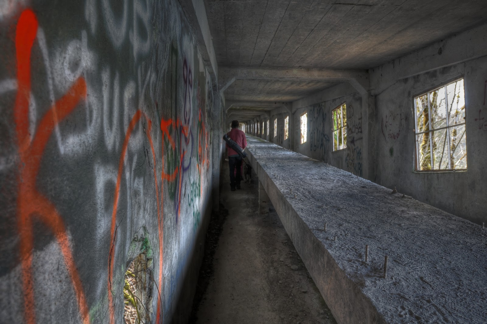 This Life Ruins The Tunnel Cement Factory