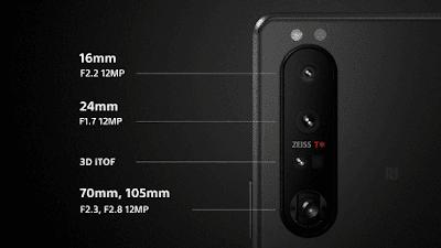 Xperia 1 IIIのリアカメラ構成