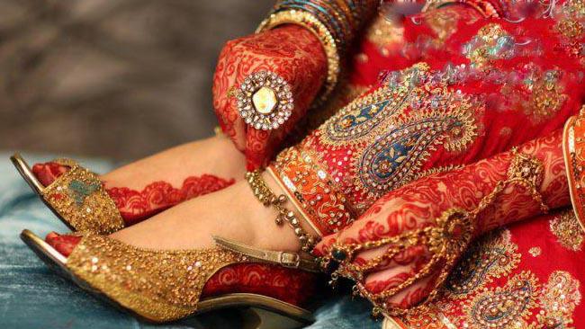 Bridal Leg Mehndi Images : Indian bridal mehndi designs for full hands images