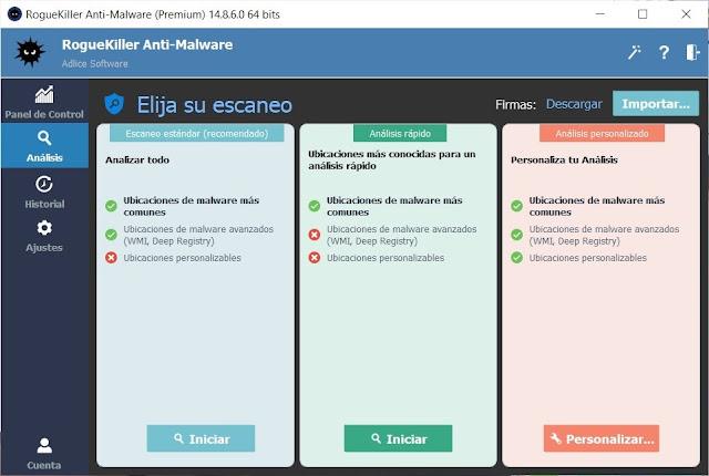 RogueKiller Anti Malware Premium Full