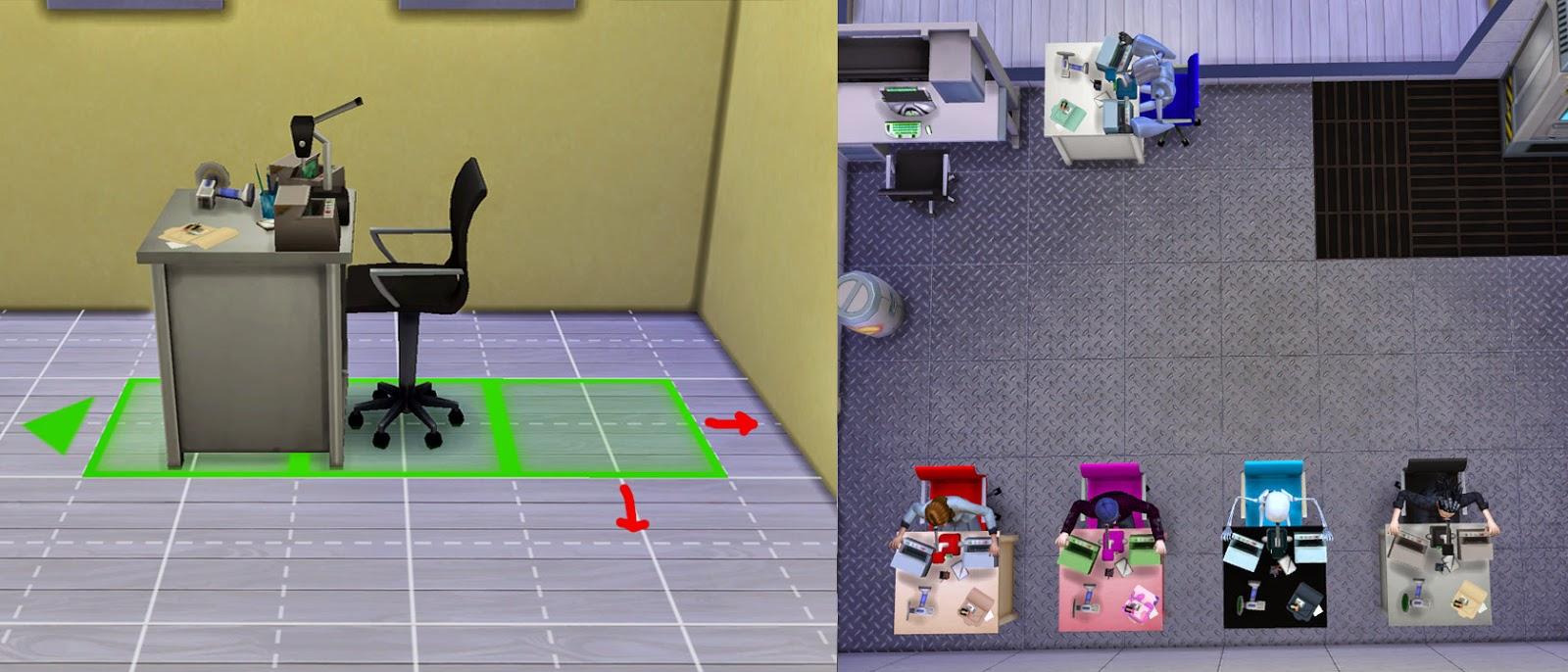 My Sims 4 Blog: Smaller Microscope Alternative by Esmeralda