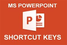 MS POWER POINT SHORTCUT KEY