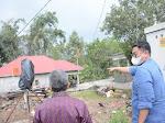 Wabup Tanah Datar Kunjungi Korban Bencana Alam Cuaca Ekstrim