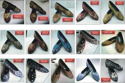 harga sepatu bordir etnik, sepatu bordir bali murah, sepatu bordir cantik