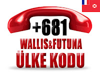 +681 Wallis ve Futuna ülke telefon kodu