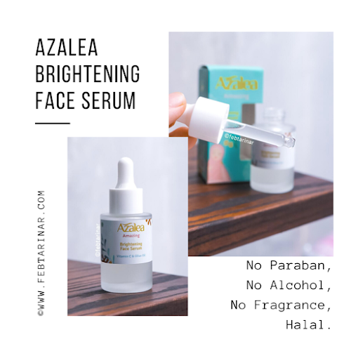 azalea face serum terbaru febtarinar beauty blogger