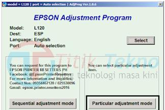 [Work 100%] Cara Reset Epson L120 Gampang Dan Jelas