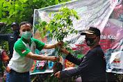Selamatkan Mata Air, Relawan Nyawa Wali Dan Ansor Gelar Penanaman Pohon Di Nyatnyono