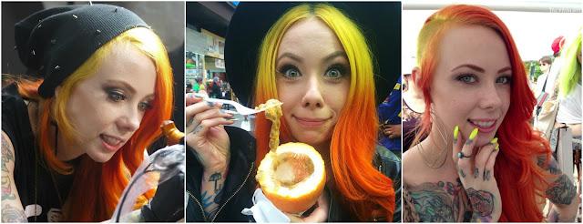 megan-massacre-cabelo-cor-de-fogo-amarelo-e-laranja