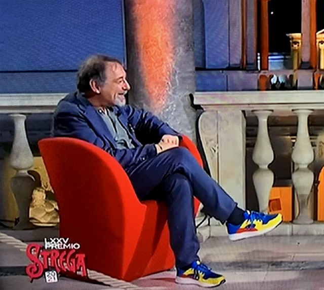 Emanuele Trevi e le scarpe di LIdl