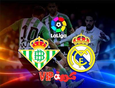 اخبار الدوري الاسباني ريال مدريد امام ريال بتيس
