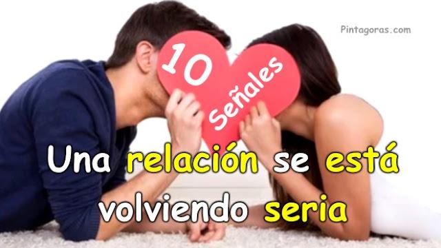 10 Señales de que una relación se está volviendo seria